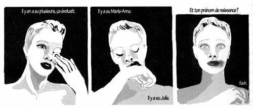 L'histoire de Bénédicte, illustrée par Audrey Spiry