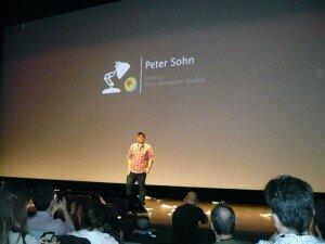 Peter Sohn, comme c'est écrit à l'écran