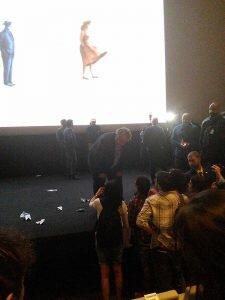 Guillermo del Toro hyper dispo pour les festivaliers !