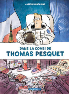 Dans la combinaison de Thomas Pesquet