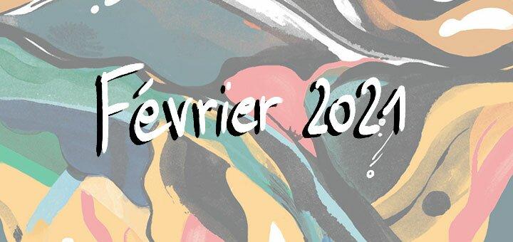 Nouveautés février 2021