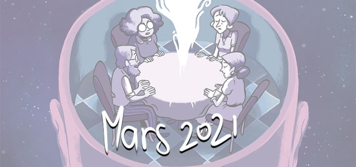 Nouveautés mars 2021