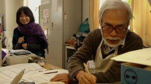 Miyazaki et Sankichi se taquinent en plein storyboard