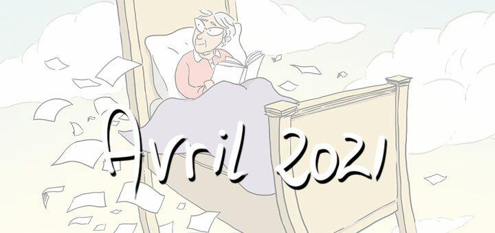 Nouveautés d'avril 2021